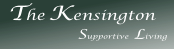 The Kensington              Supportive Living